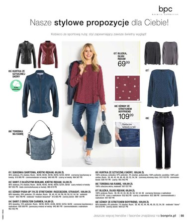 Gazetka promocyjna BonPrix, ważna od 03.07.2018 do 02.01.2019.