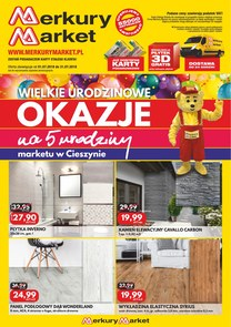 Gazetka promocyjna Merkury Market, ważna od 01.07.2018 do 31.07.2018.