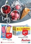 Gazetka promocyjna Auchan - Lody - ważna do 18-07-2018