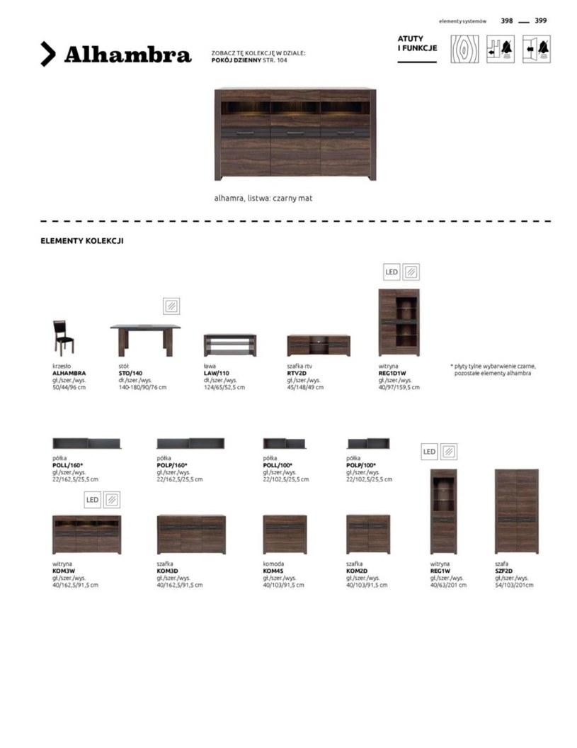 Gazetka: Katalog rodzinnych wnętrz  - strona 399