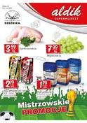 Gazetka promocyjna Aldik - Mistrzowskie promocje  - ważna do 11-07-2018