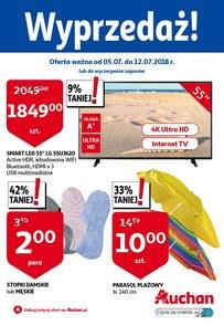 Gazetka promocyjna Auchan, ważna od 05.07.2018 do 12.07.2018.