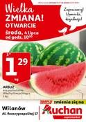 Gazetka promocyjna Auchan - Wielka zmiana - ważna do 10-07-2018