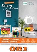 Gazetka promocyjna OBI - Ściany z charakterem  - ważna do 17-07-2018