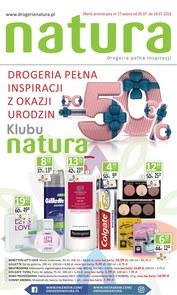 Gazetka promocyjna Drogerie Natura, ważna od 05.07.2018 do 18.07.2018.