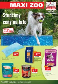 Gazetka promocyjna Maxi Zoo, ważna od 04.07.2018 do 10.07.2018.