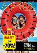 Gazetka promocyjna Avon - Wielka wakacyjna wyprzedaż - ważna do 25-07-2018