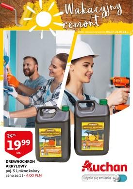 Gazetka promocyjna Auchan - Wakacyjny remont