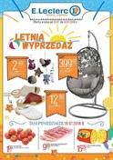Gazetka promocyjna E.Leclerc - Letnia wyprzedaż - ważna do 14-07-2018