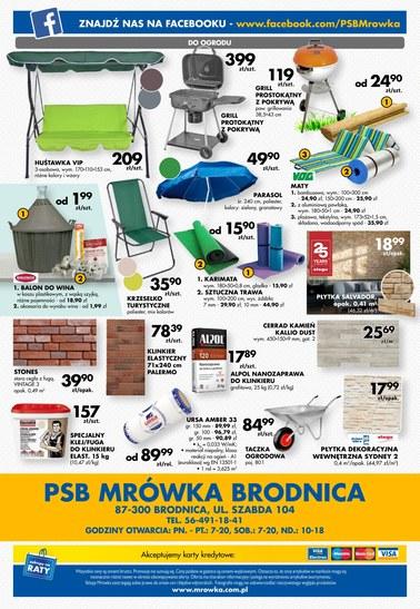 Gazetka promocyjna PSB Mrówka, ważna od 06.07.2018 do 21.07.2018.