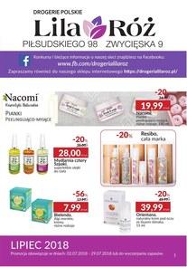 Gazetka promocyjna Lila Róż, ważna od 02.07.2018 do 29.07.2018.