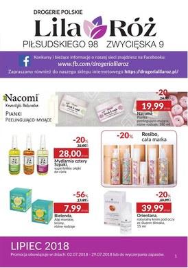 Gazetka promocyjna Lila Róż - Oferta handlowa - ważna od 02-07-2018