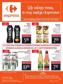 Gazetka promocyjna Carrefour Express, ważna od 10.07.2018 do 16.07.2018.