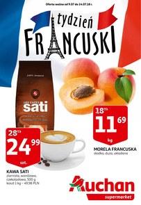 Gazetka promocyjna Auchan, ważna od 09.07.2018 do 14.07.2018.