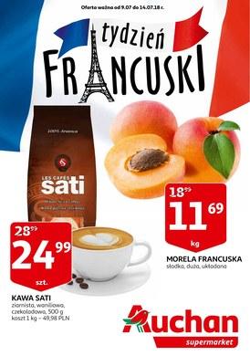 Gazetka promocyjna Auchan - Tydzień francuski-supermarkety