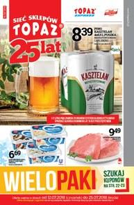 Gazetka promocyjna Topaz, ważna od 12.07.2018 do 25.07.2018.