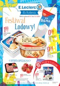 Gazetka promocyjna E.Leclerc - Festiwal lodowy! - Radom - ważna do 21-07-2018