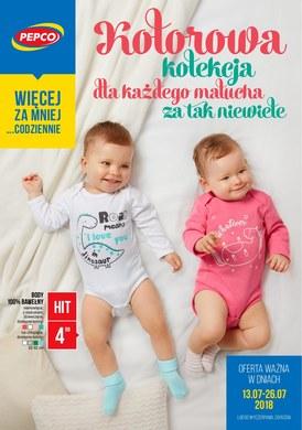 Gazetka promocyjna Pepco - Kolorowa kolekcja dla każdego malucha