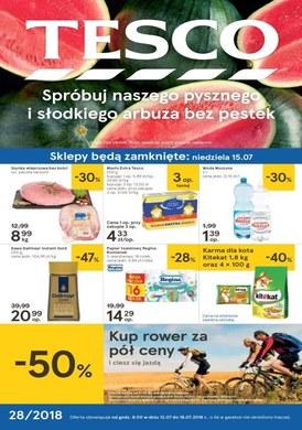 Gazetka promocyjna Tesco Hipermarket - Letnie orzeźwienie