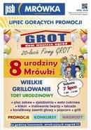 Gazetka promocyjna PSB Mrówka - 8 urodziny mrówki-Pisz