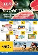 Gazetka promocyjna Tesco Supermarket - Hity miesiąca - ważna do 18-07-2018