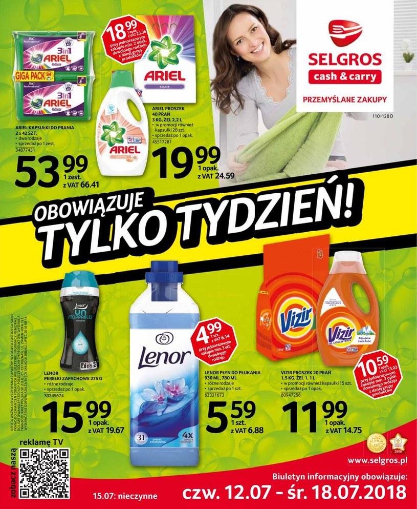 Selgros Cash&Carry: 3 gazetki