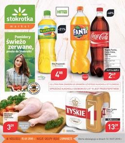 Gazetka promocyjna Stokrotka, ważna od 12.07.2018 do 18.07.2018.