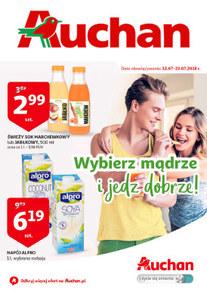 Gazetka promocyjna Auchan, ważna od 12.07.2018 do 23.07.2018.