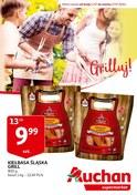 Gazetka promocyjna Auchan - Grilluj! - ważna do 17-07-2018