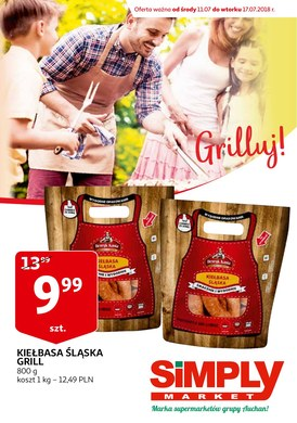 Gazetka promocyjna Simply Market - Grilluj!