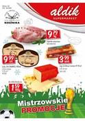 Gazetka promocyjna Aldik - Mistrzowskie promocje - ważna do 18-07-2018