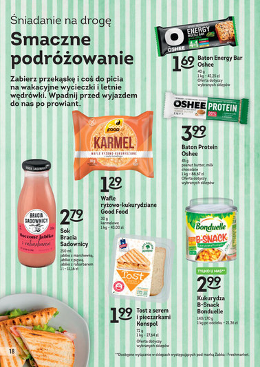 Gazetka promocyjna Żabka, ważna od 11.07.2018 do 24.07.2018.
