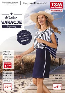 Gazetka promocyjna Textil Market - Modne wakacje