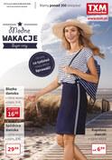 Gazetka promocyjna Textil Market - Modne wakacje - ważna do 24-07-2018