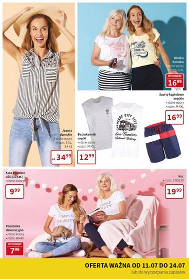 Gazetka promocyjna Textil Market, ważna od 11.07.2018 do 24.07.2018.