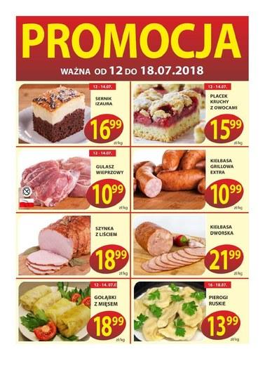 Gazetka promocyjna PSS Bochnia, ważna od 12.07.2018 do 18.07.2018.