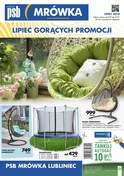 Gazetka promocyjna PSB Mrówka - Gazetka promocyjna - Lubliniec - ważna do 21-07-2018