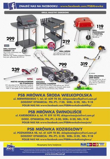 Gazetka promocyjna PSB Mrówka, ważna od 30.06.2018 do 21.07.2018.