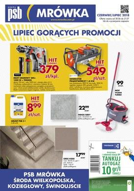 Gazetka promocyjna PSB Mrówka - Gazetka promocyjna - Środa Wielkopolska