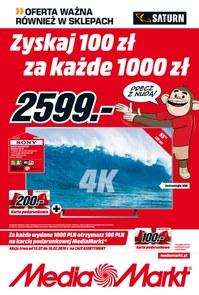 Gazetka promocyjna Media Markt, ważna od 12.07.2018 do 16.07.2018.