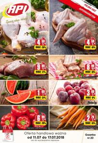 Gazetka promocyjna Api Market, ważna od 11.07.2018 do 17.07.2018.