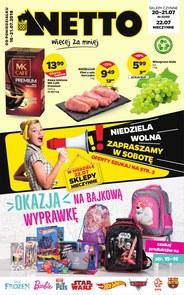 Gazetka promocyjna Netto, ważna od 16.07.2018 do 21.07.2018.
