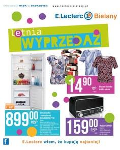 Gazetka promocyjna E.Leclerc, ważna od 10.07.2018 do 21.07.2018.