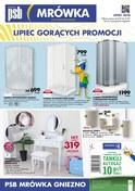 Gazetka promocyjna PSB Mrówka - Lipiec gorących promocji - Gniezno - ważna do 21-07-2018