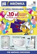 Gazetka promocyjna PSB Mrówka - W lipcu premiujemy zakupy