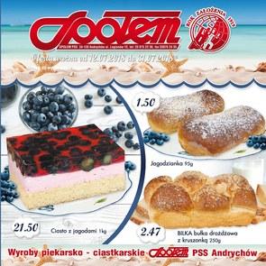 Gazetka promocyjna PSS Andrychów, ważna od 12.07.2018 do 31.07.2018.