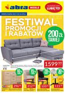 Gazetka promocyjna Abra - Festiwal promocji i rabatów