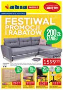 Gazetka promocyjna Abra - Festiwal promocji i rabatów - ważna do 26-07-2018