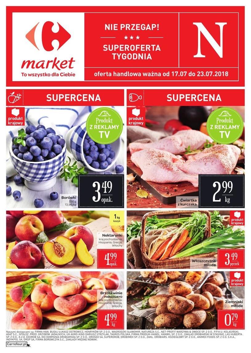 Carrefour Market: 2 gazetki