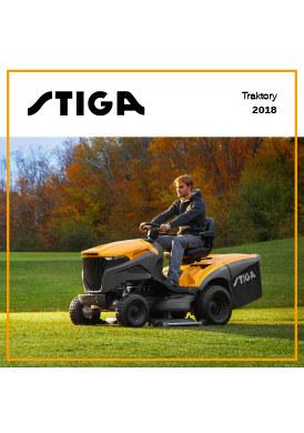 Gazetka promocyjna Stiga - Katalog traktory